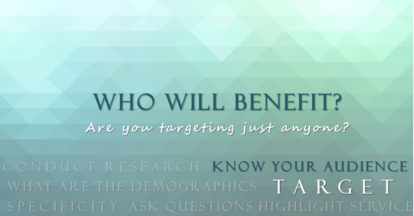 Who Will Benefit?