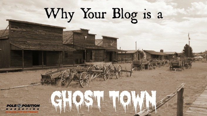 blog ghost town