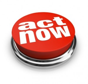 A clear call to action should be part of your online marketing campaign.