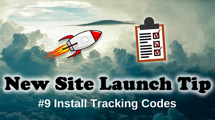 Install analytics tracking codes