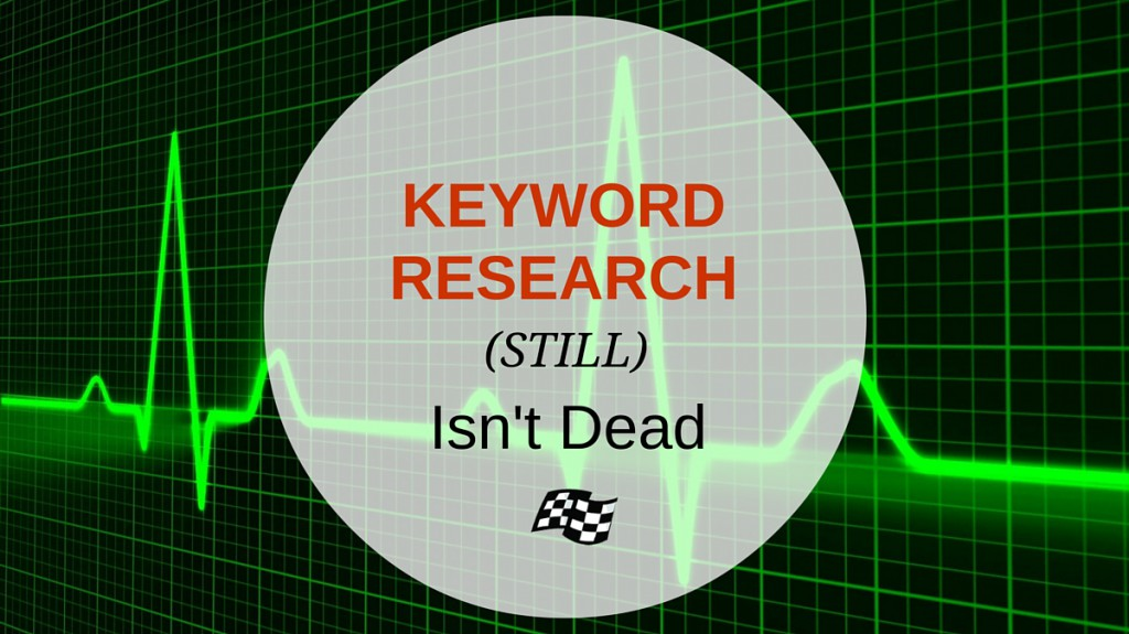 keyword research isn't dead